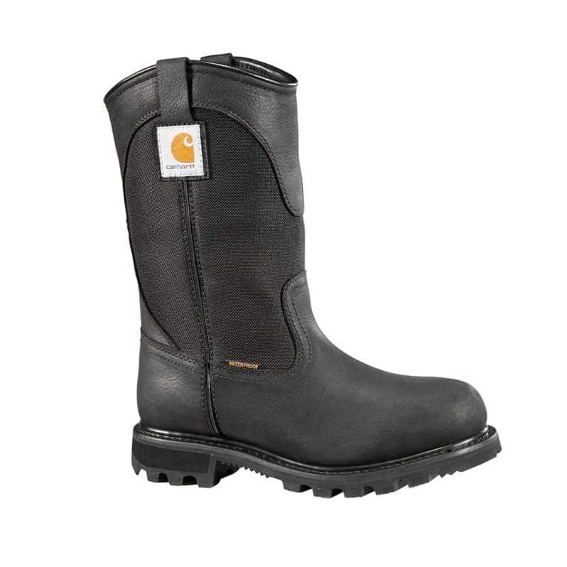 Carhartt  Black 10-Inch Non-Safety Toe Wellington Boot