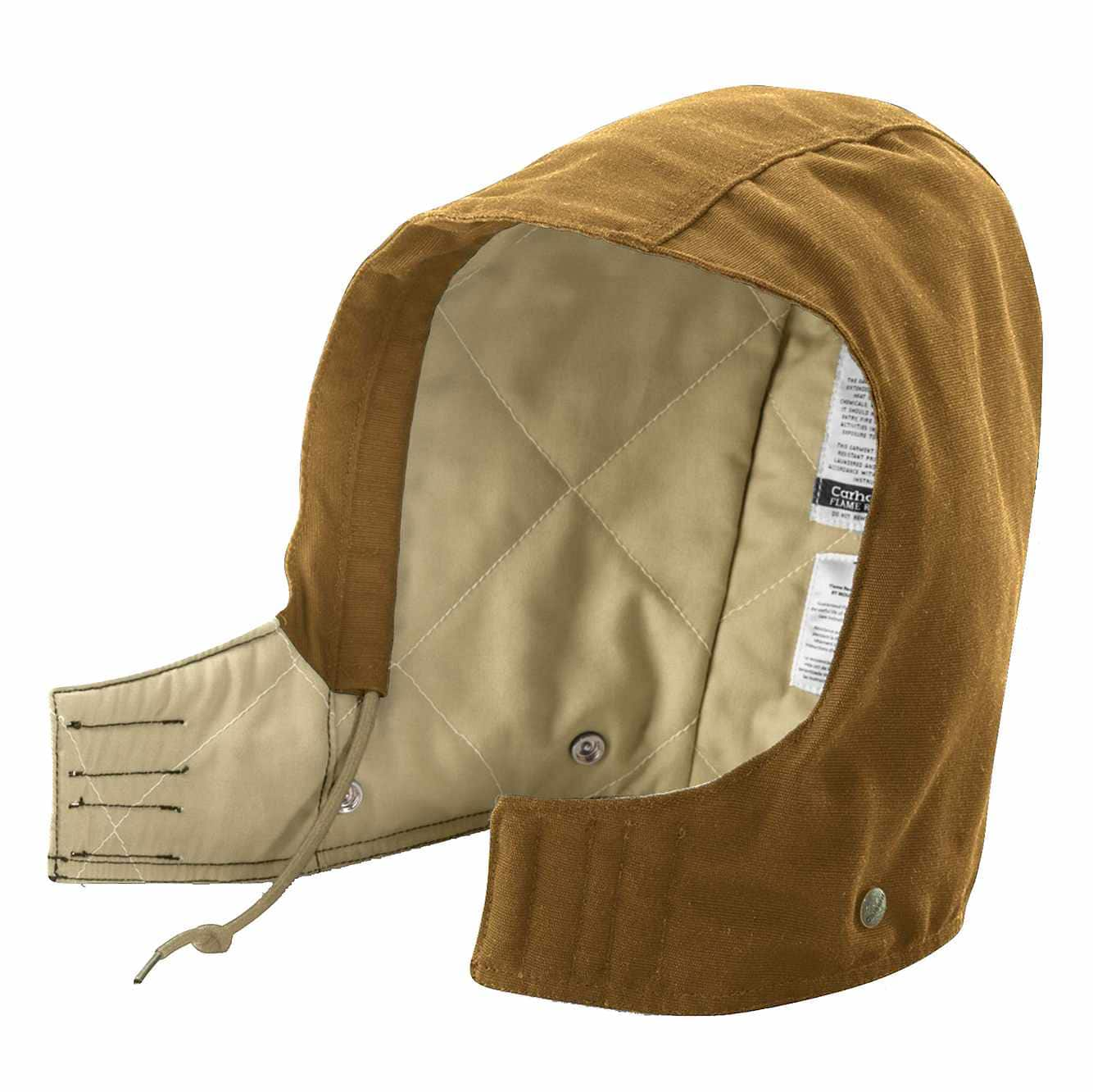 Picture of Flame-Resistant Midweight Canvas Hood in Carhartt Brown
