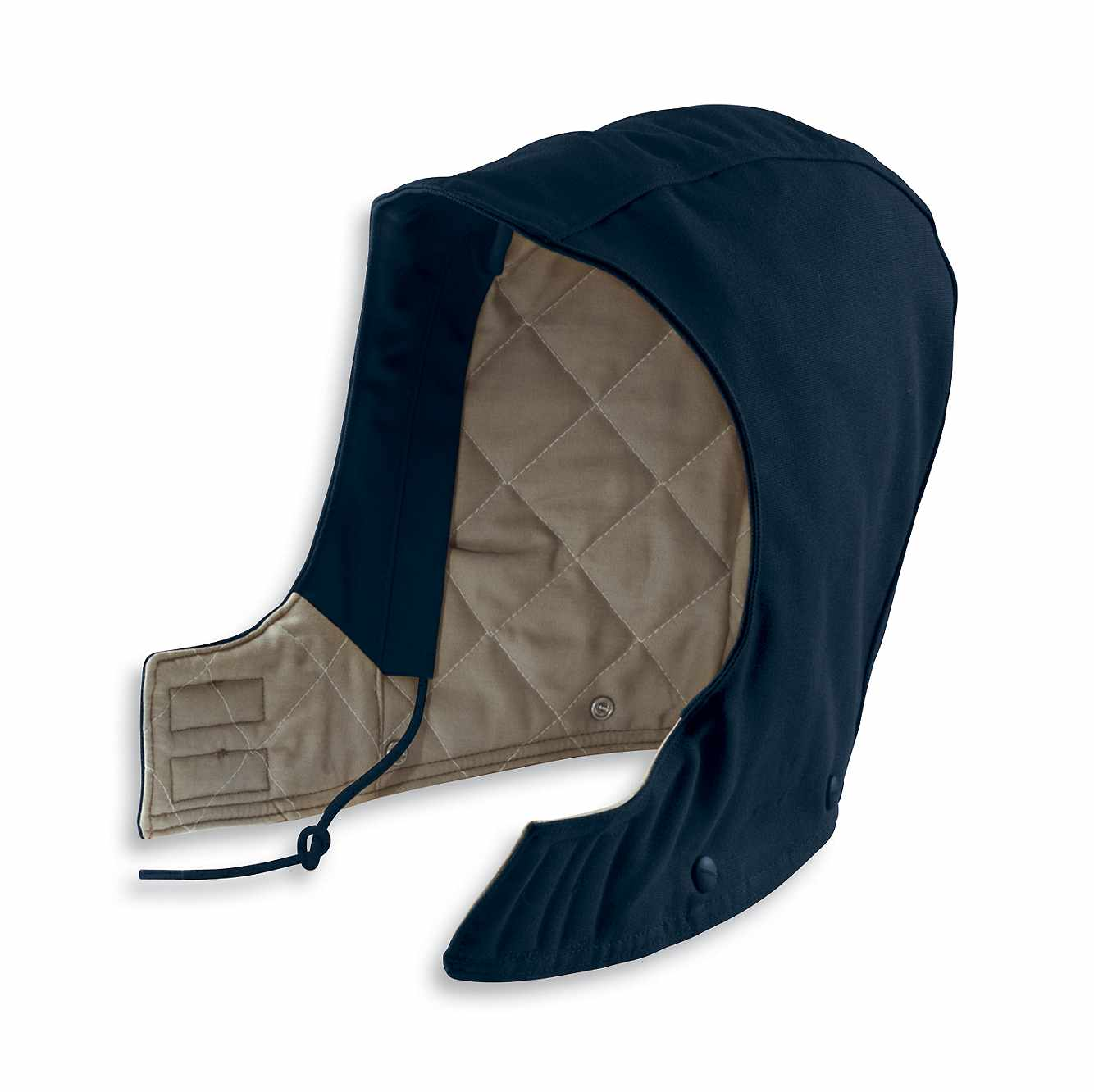 Picture of Flame-Resistant Duck Hood/Quilt-Lined in Dark Navy