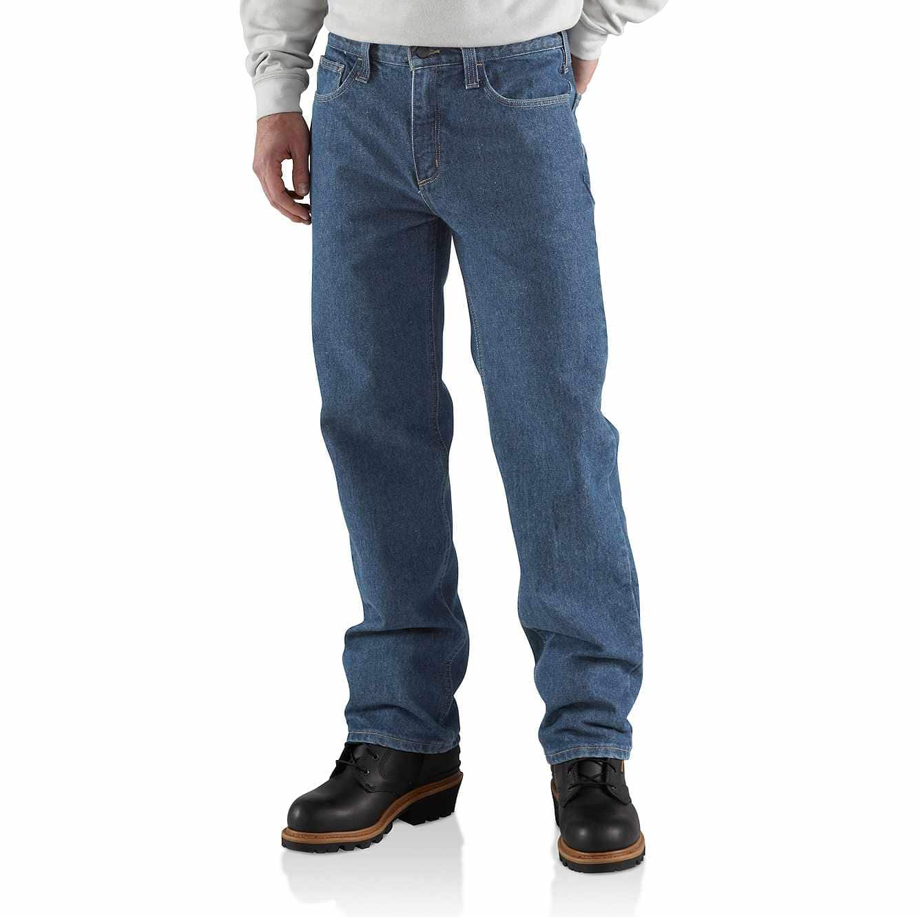 Picture of Flame-Resistant Relaxed-Fit Utility Jean in Midstone