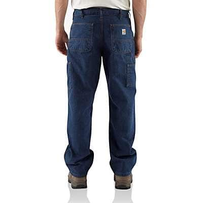Carhartt  Denim Flame-Resistant Denim Dungaree - back