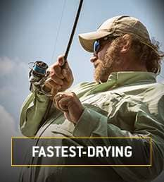 Fastest-Drying. Fastdry Powered by 37.5 Makes this our fastest drying gear