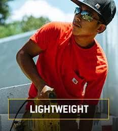 lightweight. lightweight yet still super tough and durable