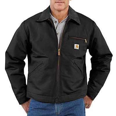 Carhartt  Black Duck Detroit Blanket-Lined Jacket - front