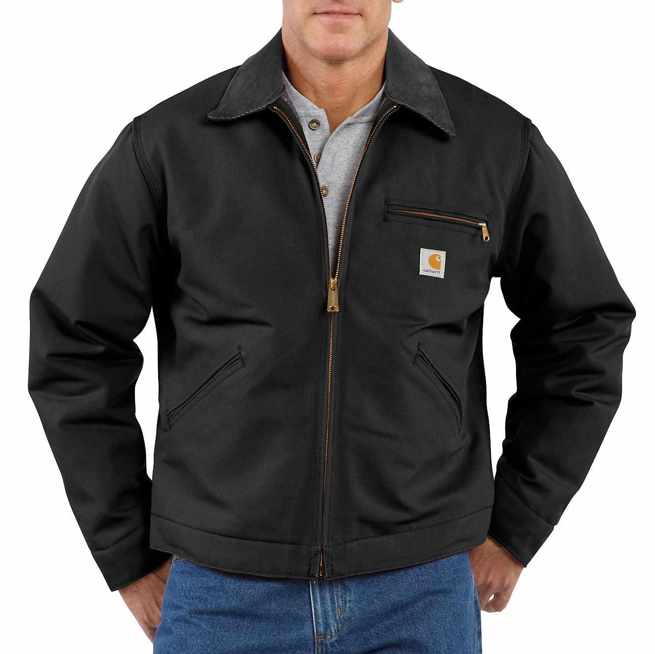 1a4f390d116 Men's Duck Detroit Blanket-Lined Jacket J001 | Carhartt