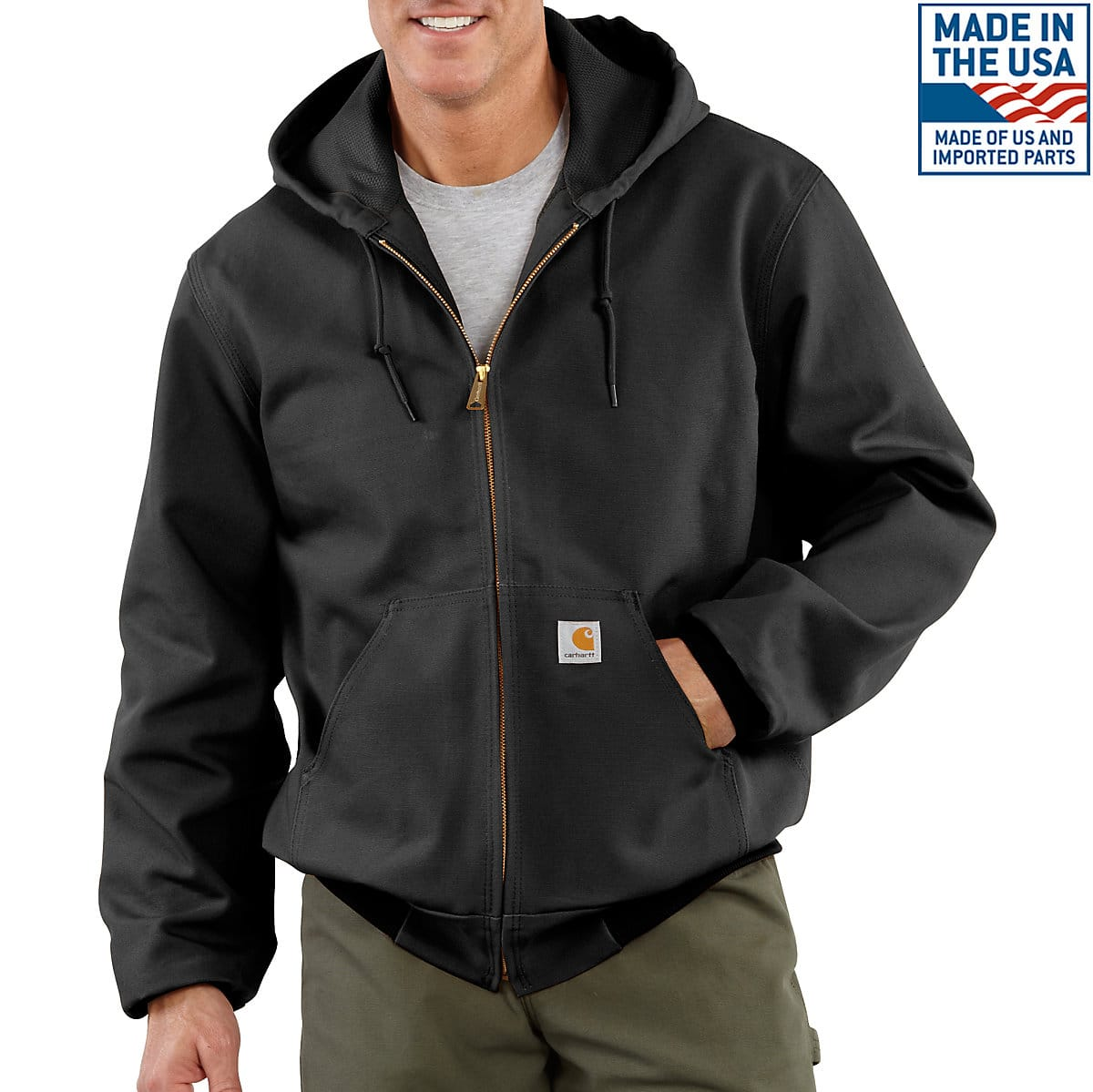 8e4d46f4a Men's Duck Thermal-Lined Active Jac J131 | Carhartt