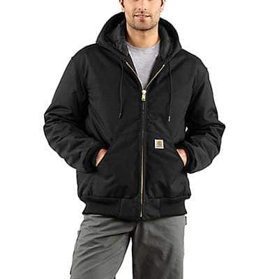 Carhartt Men's Black Yukon Extremes® Arctic-Quilt Active Jac - front