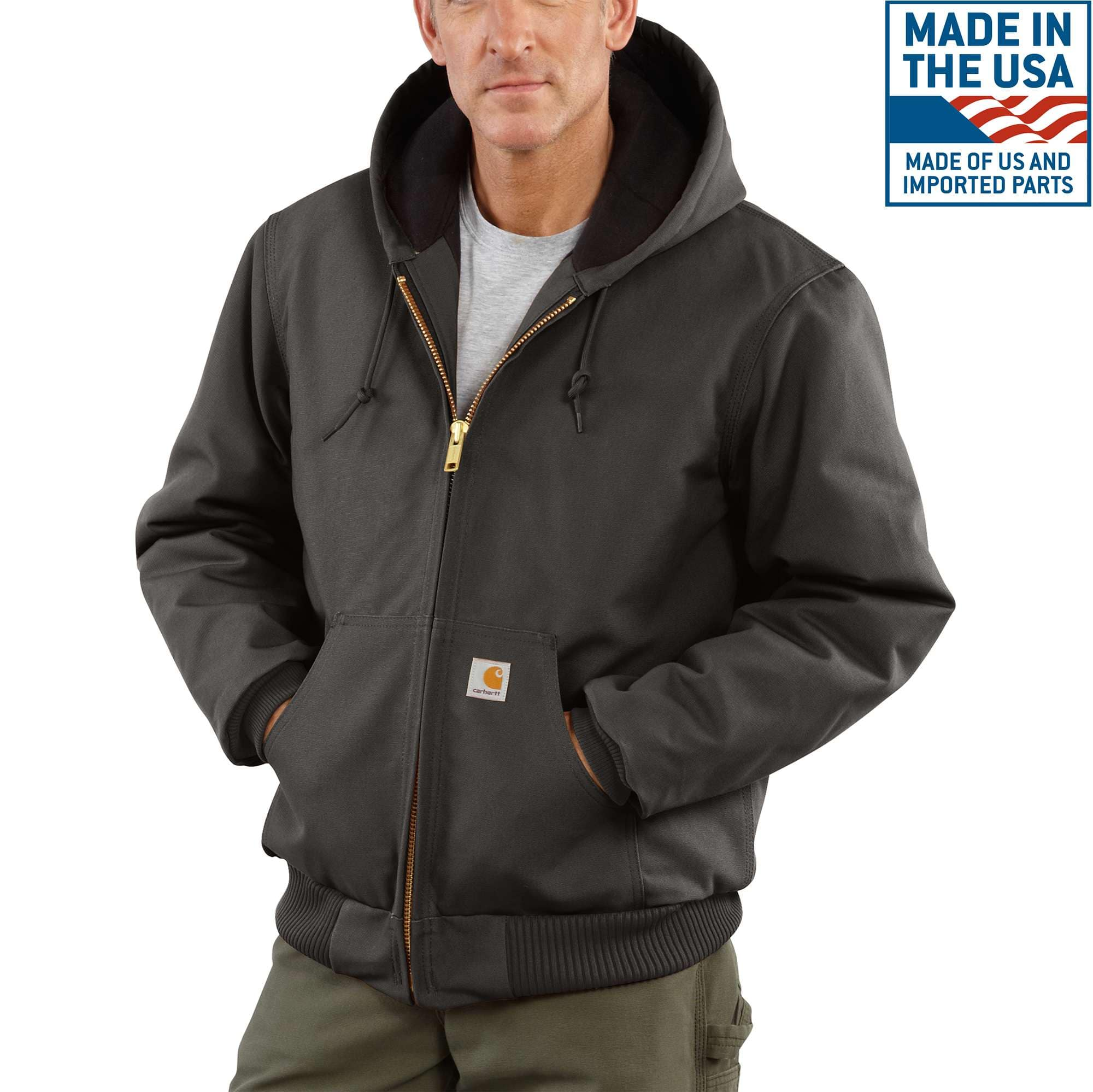 84ef1eb1bfb2 Men s Duck Quilted Flannel-Lined Active Jac J140