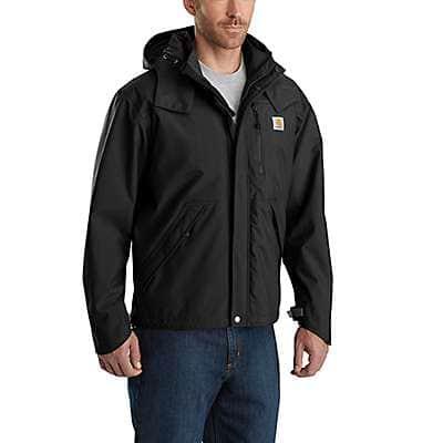 Carhartt Men's Black Storm Defender® Loose Fit Heavyweight Jacket