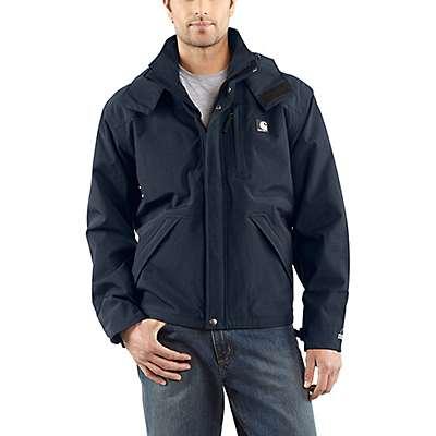 Carhartt Men's Navy Storm Defender® Loose Fit Heavyweight Jacket