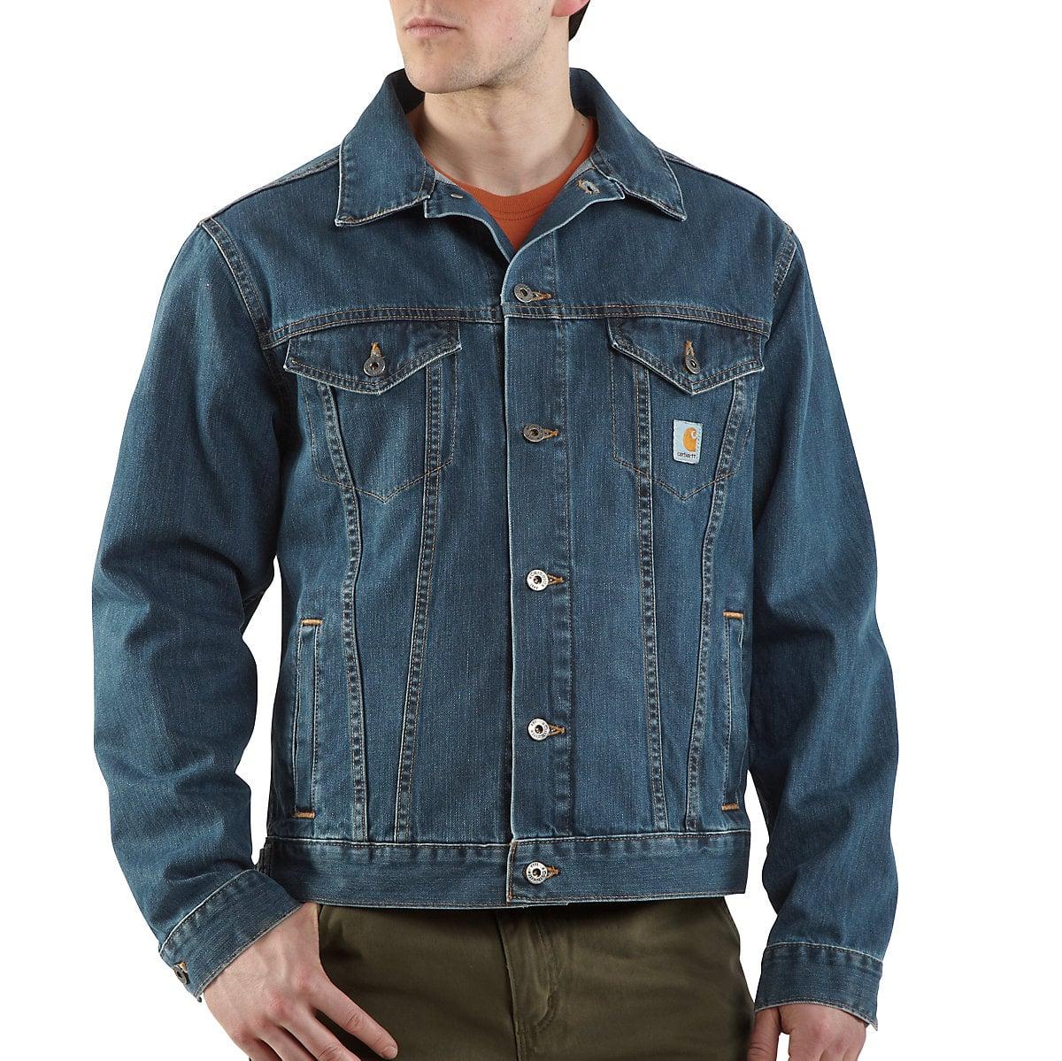 Men's Denim Jean Jacket/Unlined J291 | Carhartt
