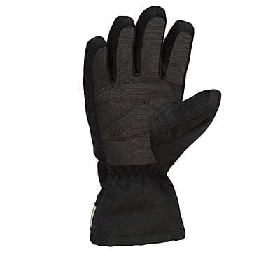 Carhartt Girls' Carhartt Brown Duck Insulated Glove - back
