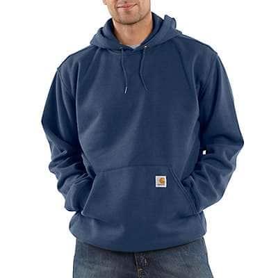 Carhartt Men's New Navy Loose Fit Midweight Sweatshirt