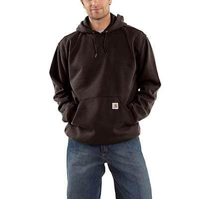 Carhartt Men's Dark Brown Loose Fit Midweight Sweatshirt