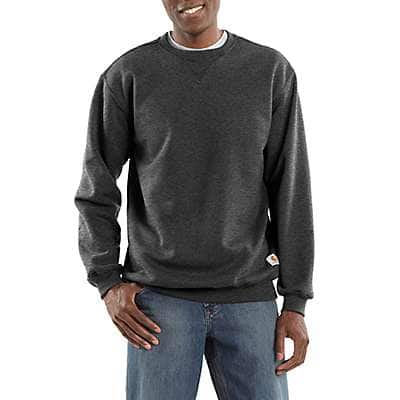 Carhartt  Carbon Heather Midweight Crewneck Sweatshirt - front