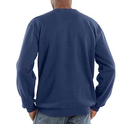 Carhartt  Carbon Heather Midweight Crewneck Sweatshirt - back