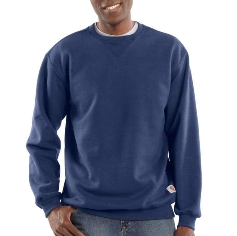 Carhartt  New Navy Midweight Crewneck Sweatshirt