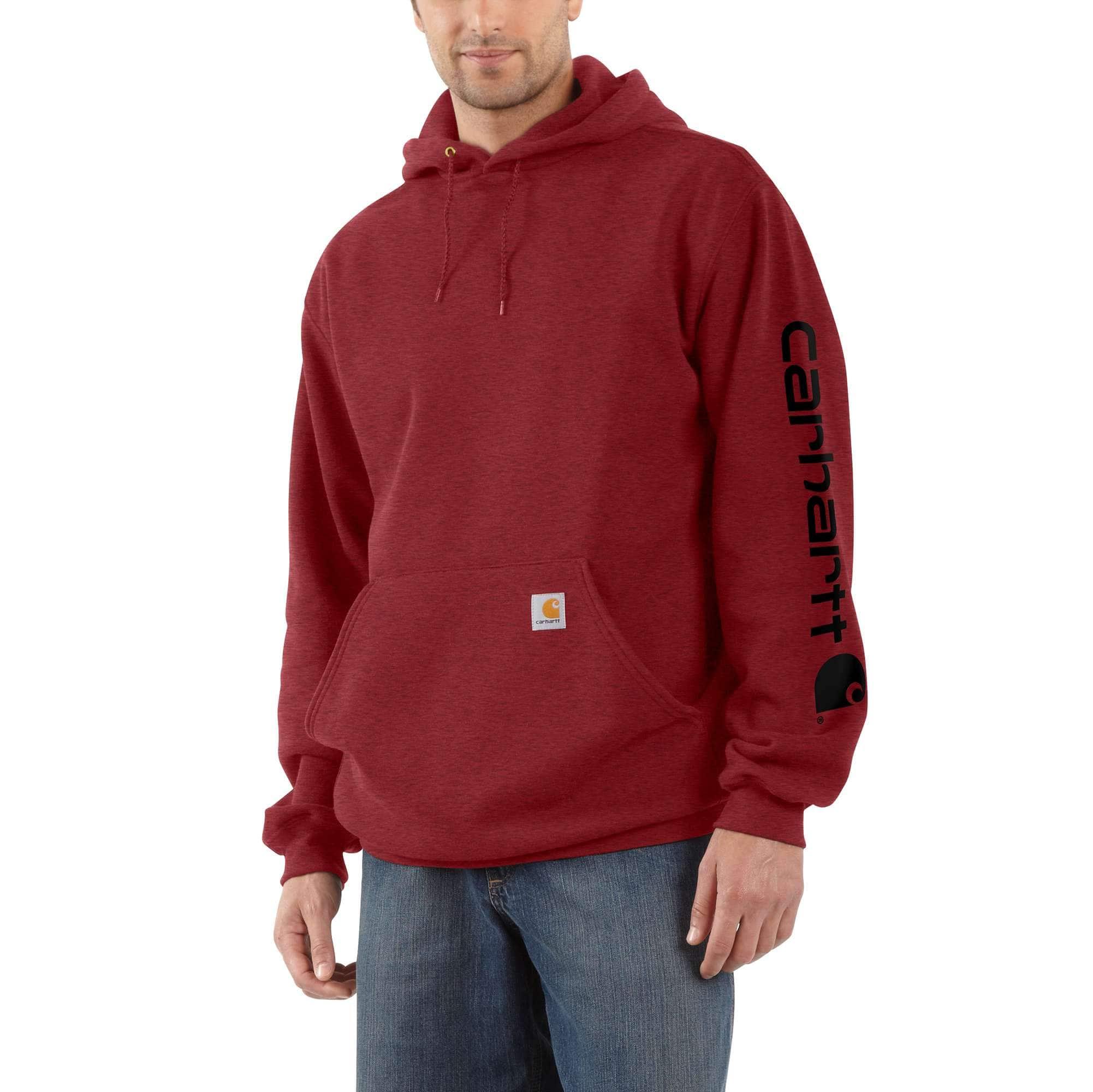 Men's Midweight Hooded Logo Sweatshirt K2