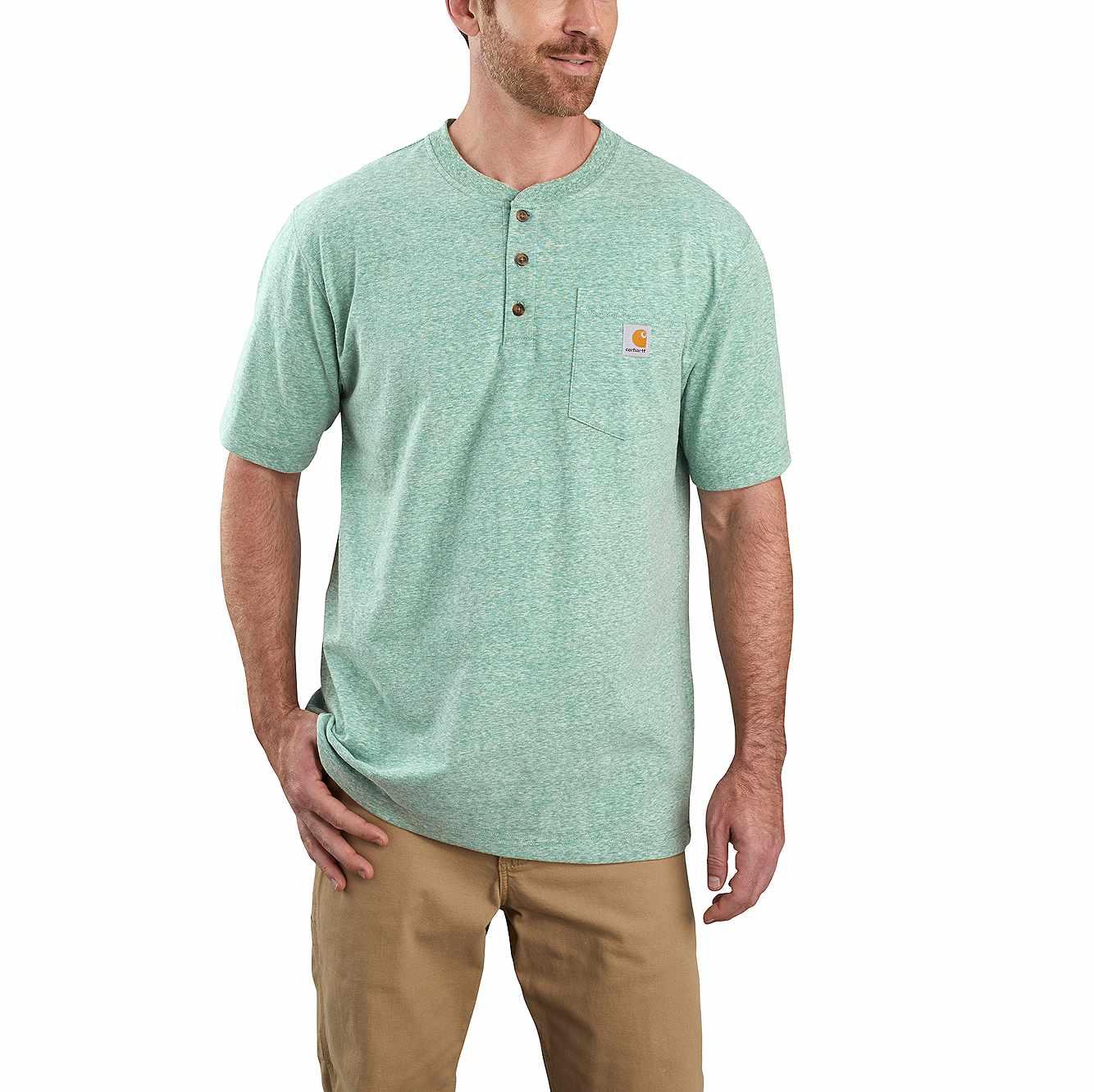 Workwear Short Sleeve Henley T Shirt