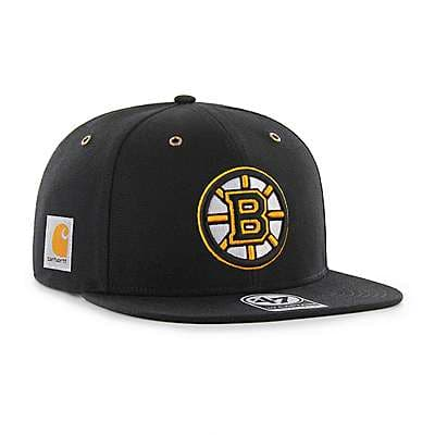 Carhartt Unisex Carhartt Brown Boston Bruins Carhartt x '47 Captain - front