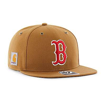 Carhartt Men's Carhartt Brown Boston Red Sox Carhartt x '47 Captain - front