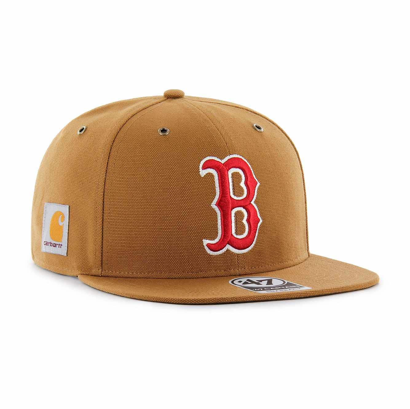 Picture of Boston Red Sox Carhartt x '47 Captain in Carhartt Brown