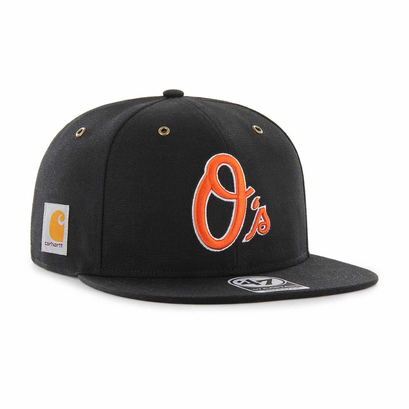 Picture of Baltimore Orioles Carhartt x '47 Captain in Black
