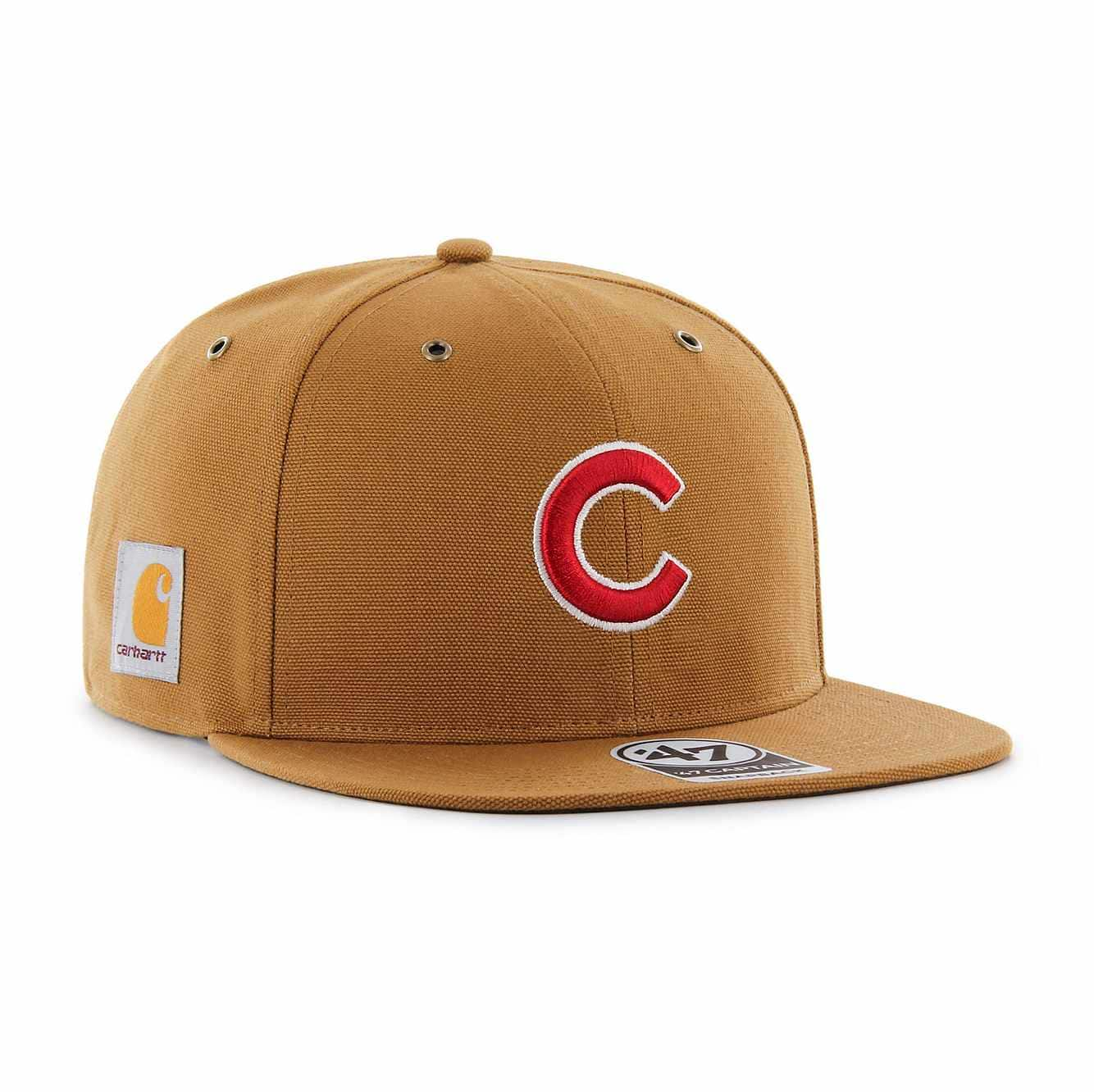 Picture of Chicago Cubs Carhartt x '47 Captain in Carhartt Brown