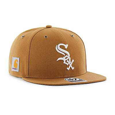 Carhartt Men's Carhartt Brown Chicago White Sox Carhartt x '47 Captain - front