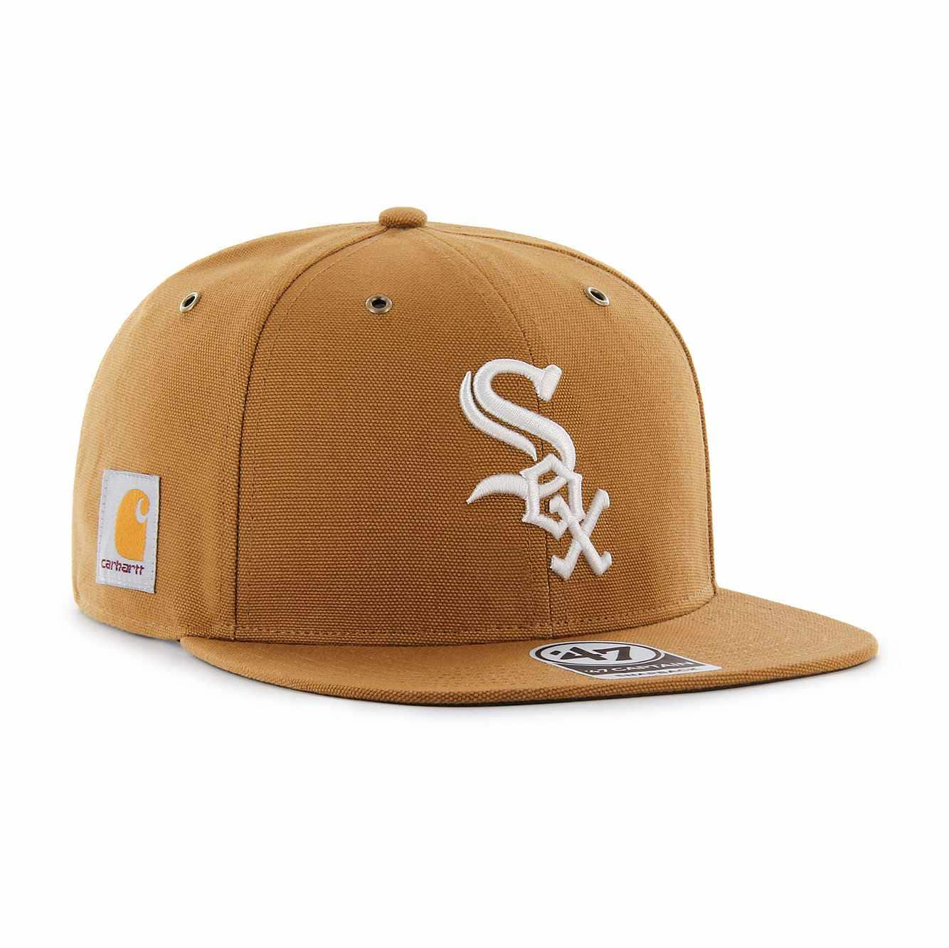 Picture of Chicago White Sox Carhartt x '47 Captain in Carhartt Brown