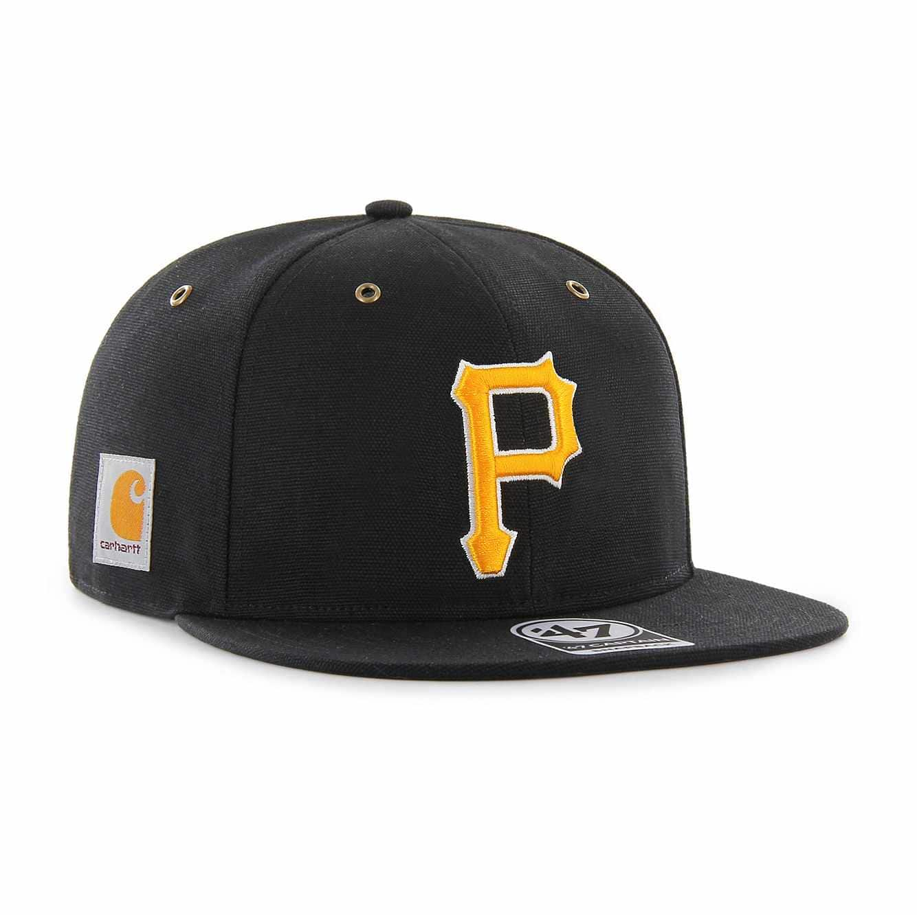 Picture of Pittsburgh Pirates Carhartt x '47 Captain in Black