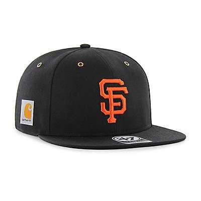 Carhartt  Black San Francisco Giants Carhartt x '47 Captain - front