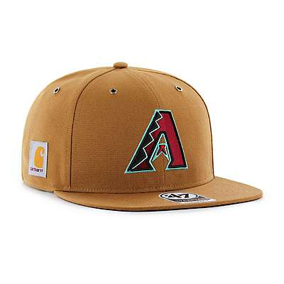 Carhartt Men's Carhartt Brown Arizona Diamondbacks Carhartt x '47 Captain - front