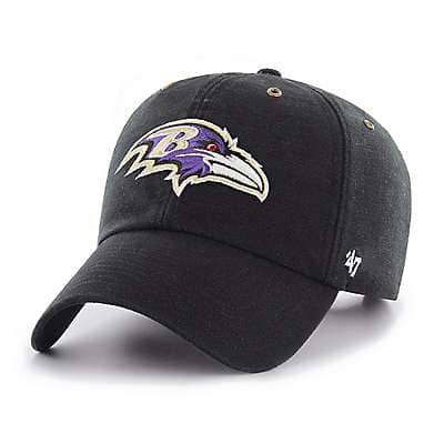 Carhartt Men's Black Baltimore Ravens Carhartt X '47 Clean Up - front