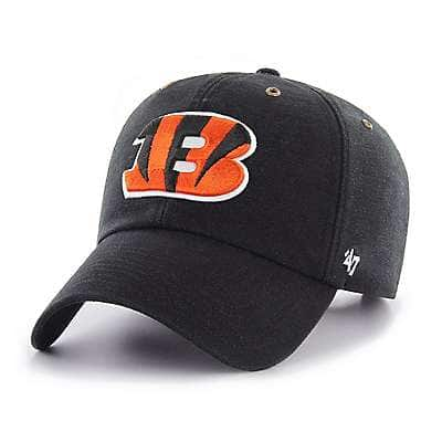 Carhartt Men's Black Cincinnati Bengals Carhartt X '47 Clean Up - front