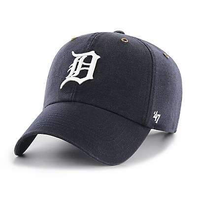 Carhartt  Navy Detroit Tigers Carhartt x '47 Clean Up - front