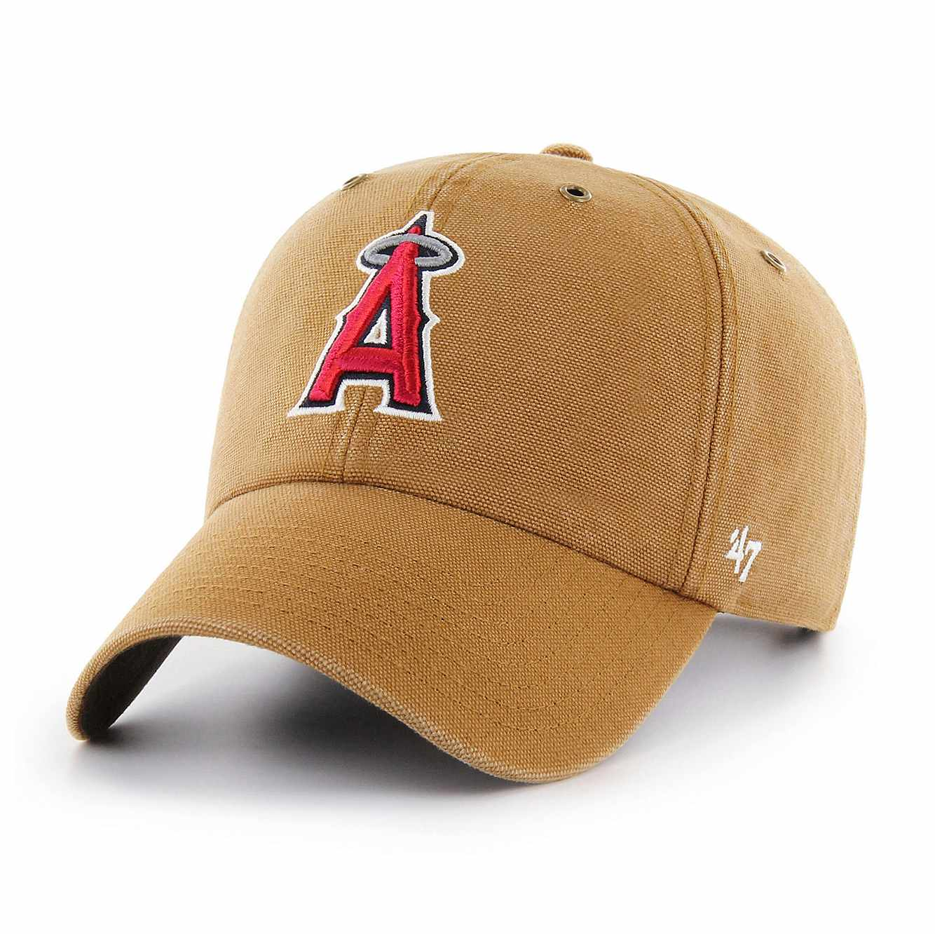 Picture of Los Angeles Angels Carhartt x '47 Clean Up in Carhartt Brown