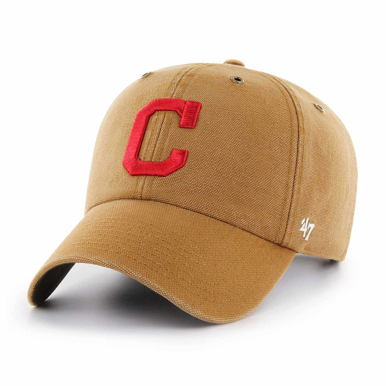 Picture of Cleveland Indians Carhartt x '47 Clean Up in Carhartt Brown