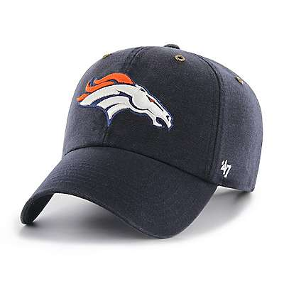 Carhartt Men's Navy Denver Broncos Carhartt X '47 Clean Up - front
