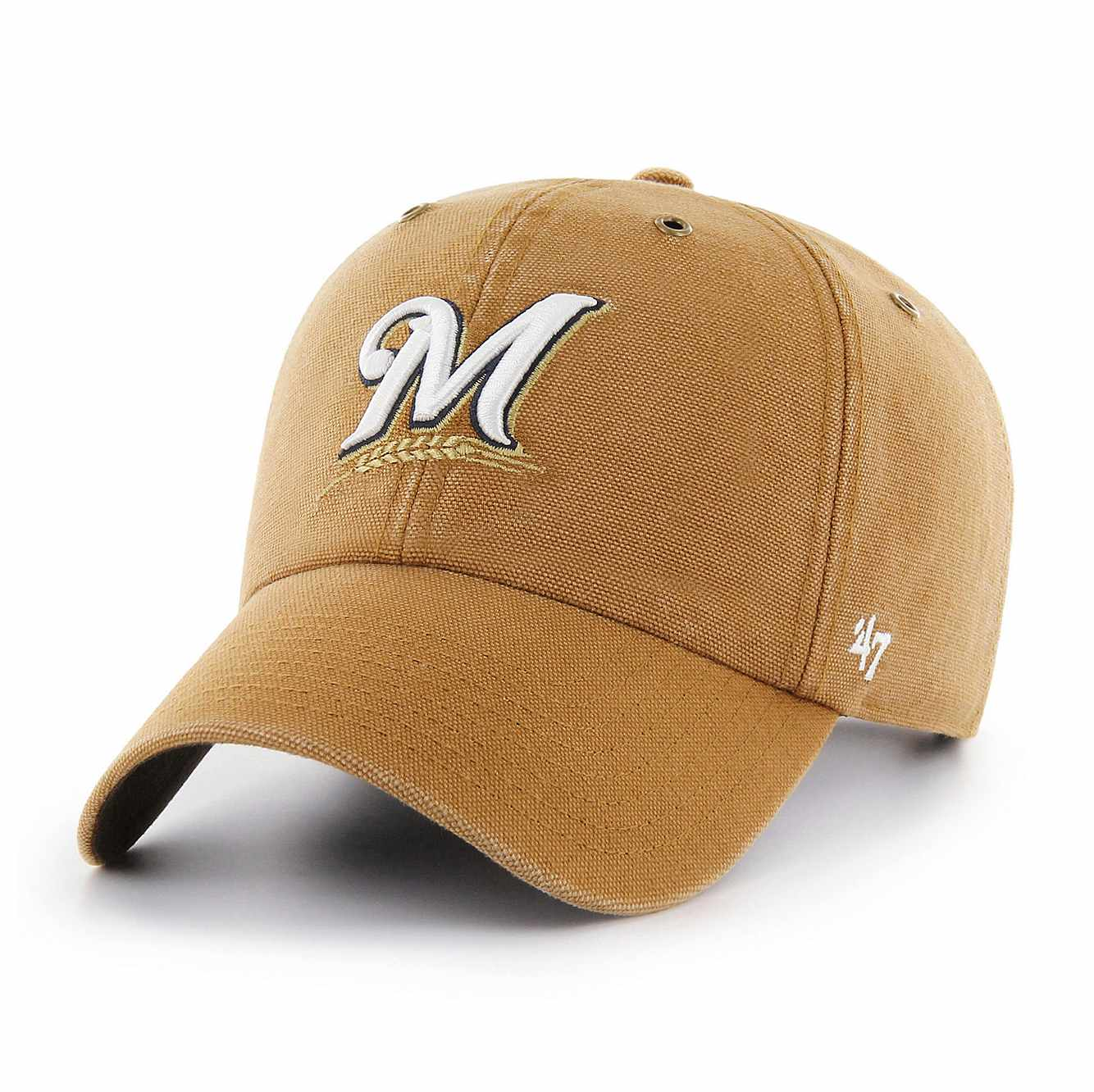 Picture of Milwaukee Brewers Carhartt x '47 Clean Up in Carhartt Brown