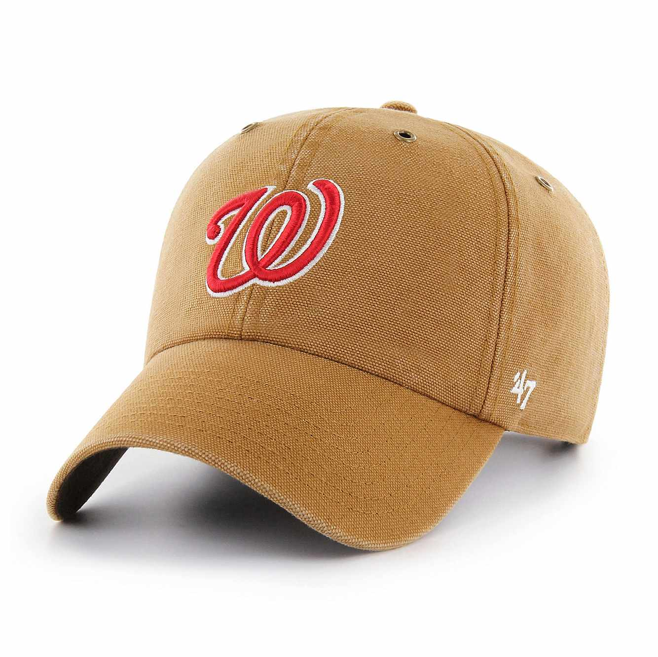 Picture of Washington Nationals Carhartt x '47 Clean Up in Carhartt Brown