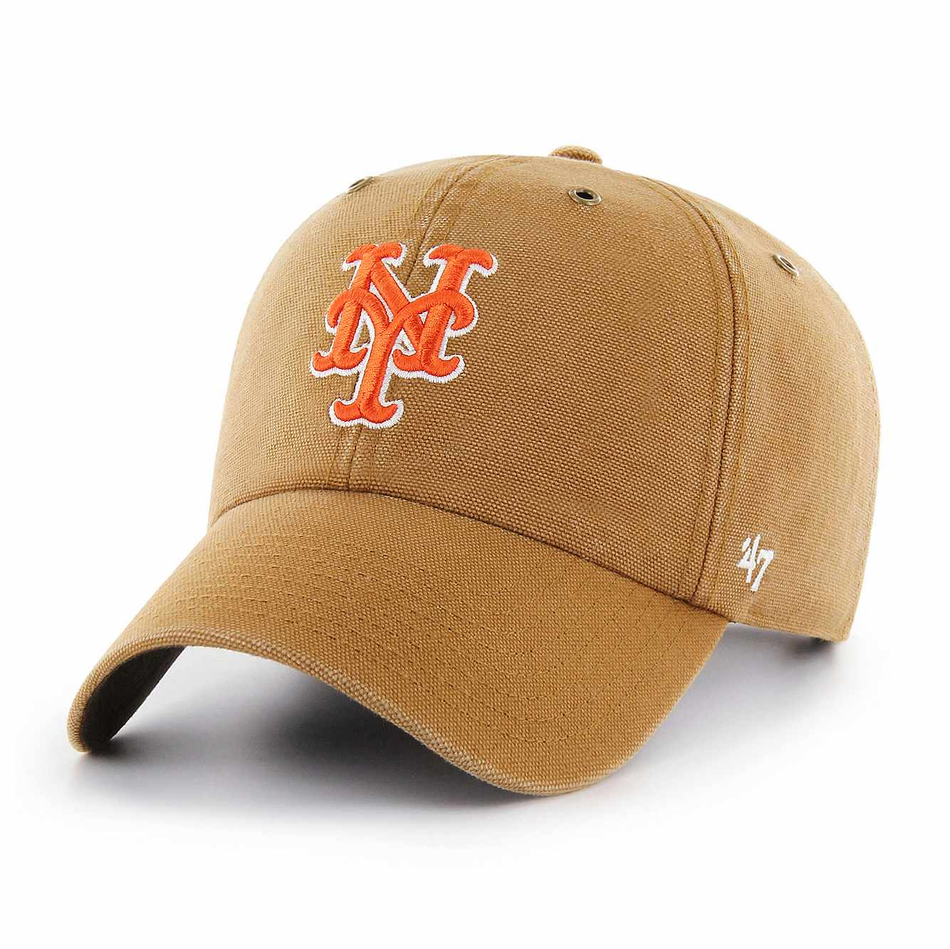 Picture of New York Mets Carhartt x '47 Clean Up in Carhartt Brown