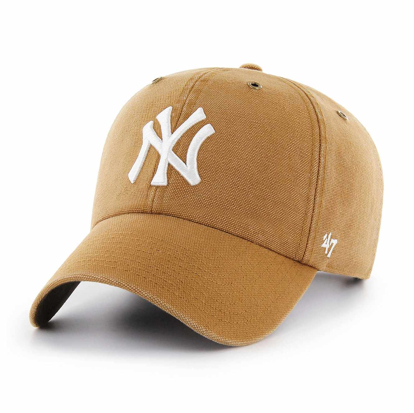 Picture of New York Yankees Carhartt x '47 Clean Up in Carhartt Brown