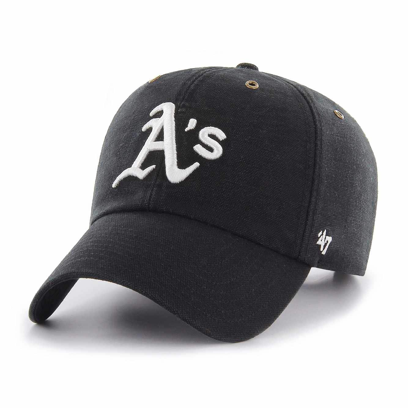 Picture of Oakland Athletics Carhartt x '47 Clean Up in Black