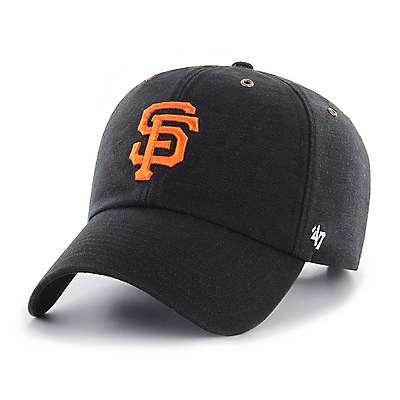 Carhartt  Black San Francisco Giants Carhartt x '47 Clean Up - front