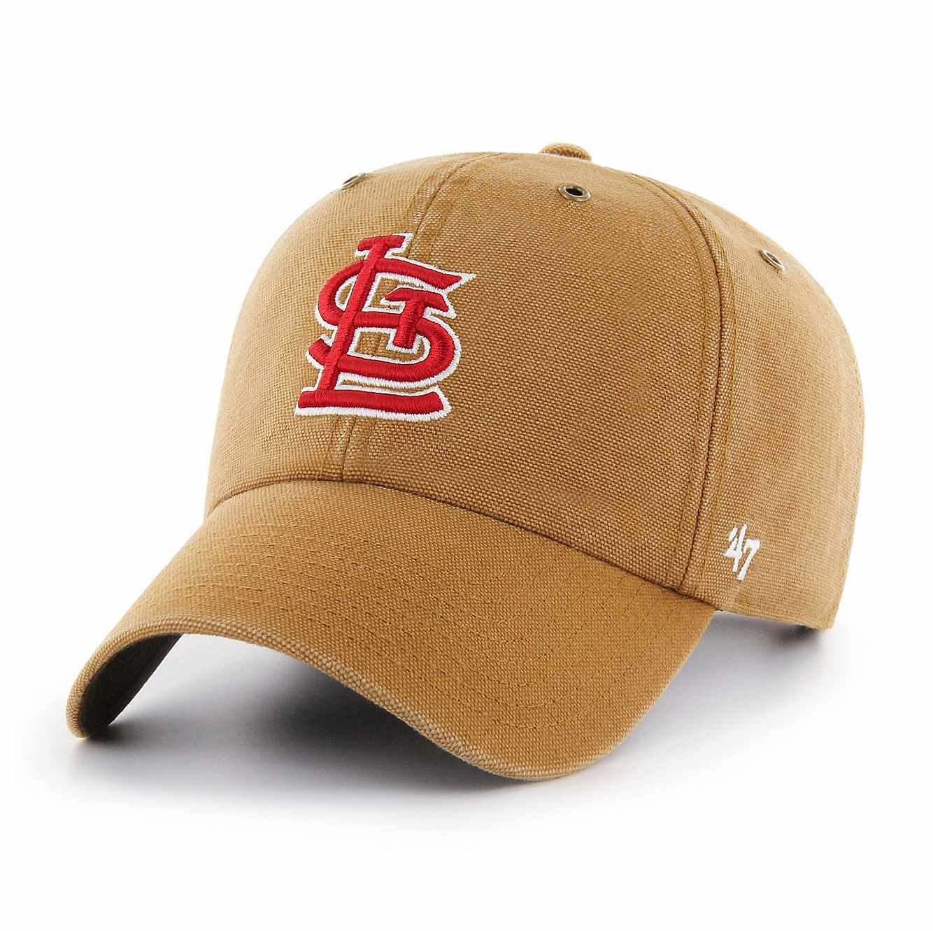 Picture of St Louis Cardinals Carhartt x '47 Clean Up in Carhartt Brown
