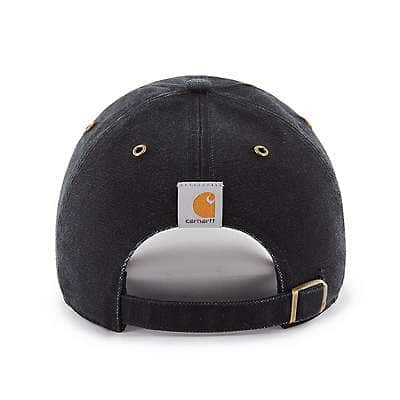 Carhartt Men's Black Colorado Rockies Carhartt x '47 Clean Up - back