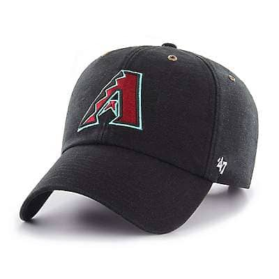 Carhartt Men's Black Arizona Diamondbacks Carhartt x '47 Clean Up - front