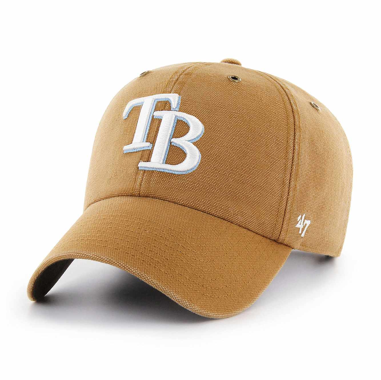Picture of Tampa Bay Rays Carhartt x '47 Clean Up in Carhartt Brown