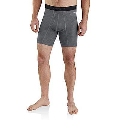 "Carhartt  Shadow Grid Carhartt Base Force® 8"" Tech Boxer Brief - front"